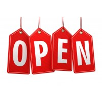 We are opened!